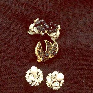 Vintage earring bundle #275